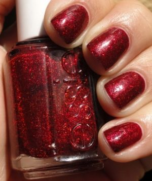 Essie - Ruby Slippers (discontinued but it'd be fun for my kids for a Christmas color!)