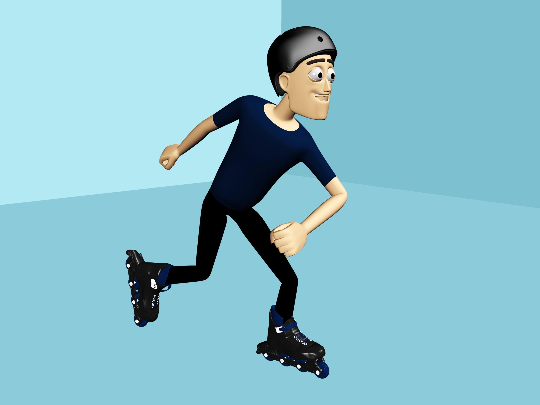How to ice skate schaatsen