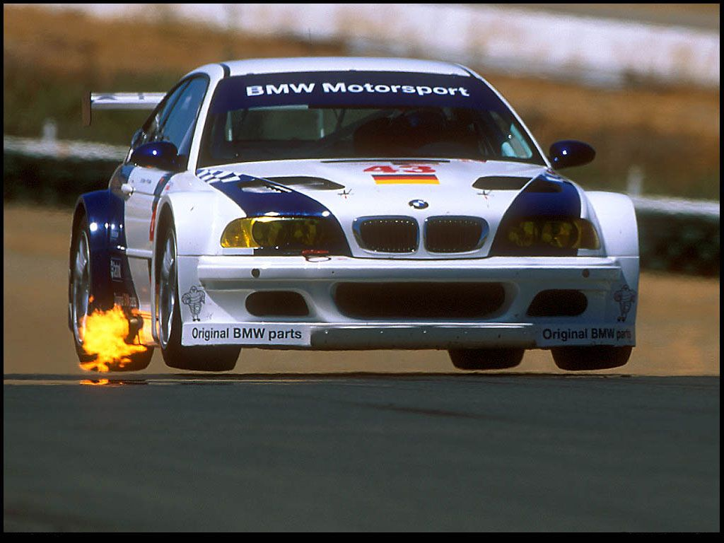 Bmw e46 m3 gtr coz you could grill some mean steaks and hotdogs with that