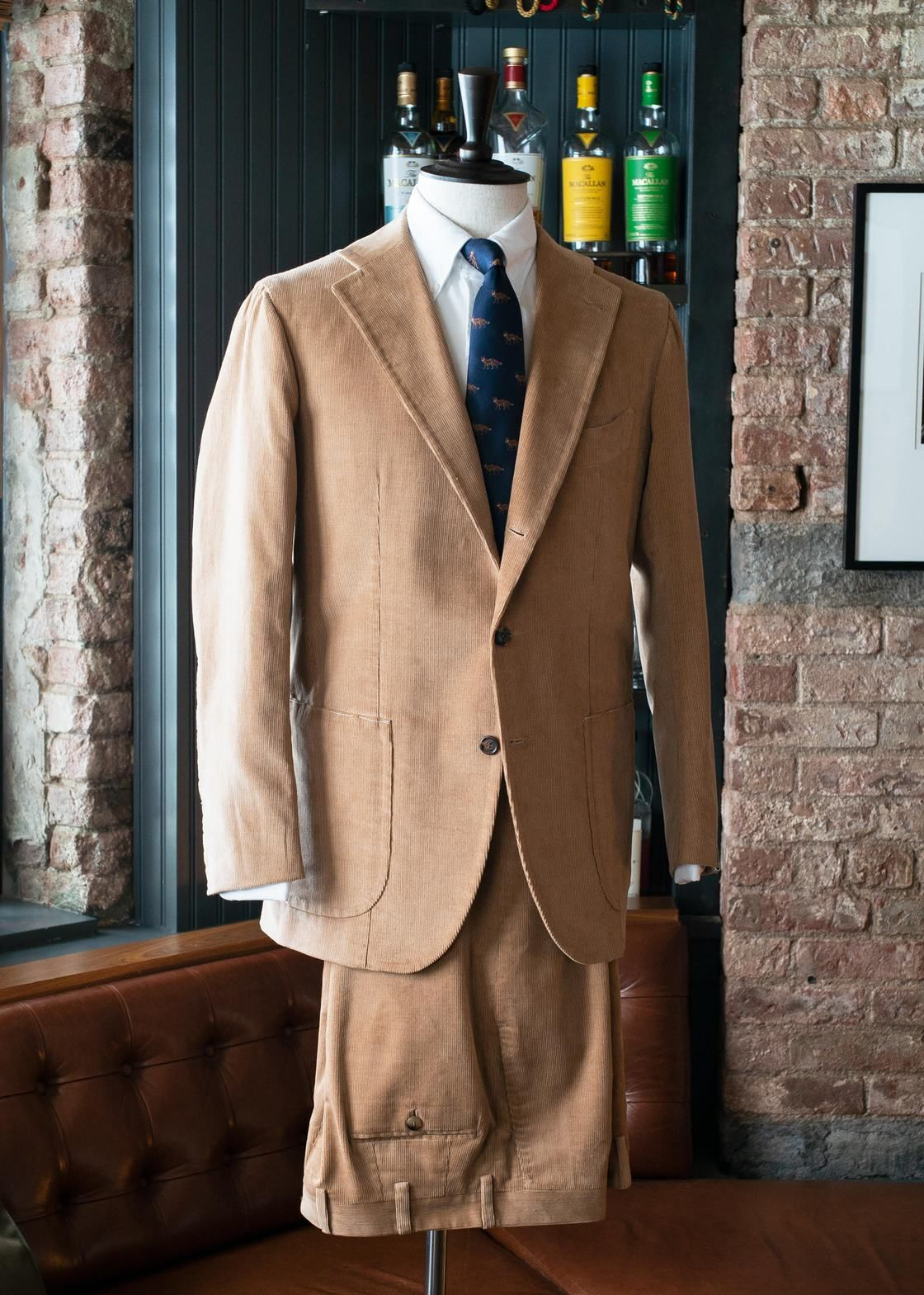 1f807700acfe99 Orazio Luciano Corduroy Suit in 2019 | That Ivy League Look | Suits ...