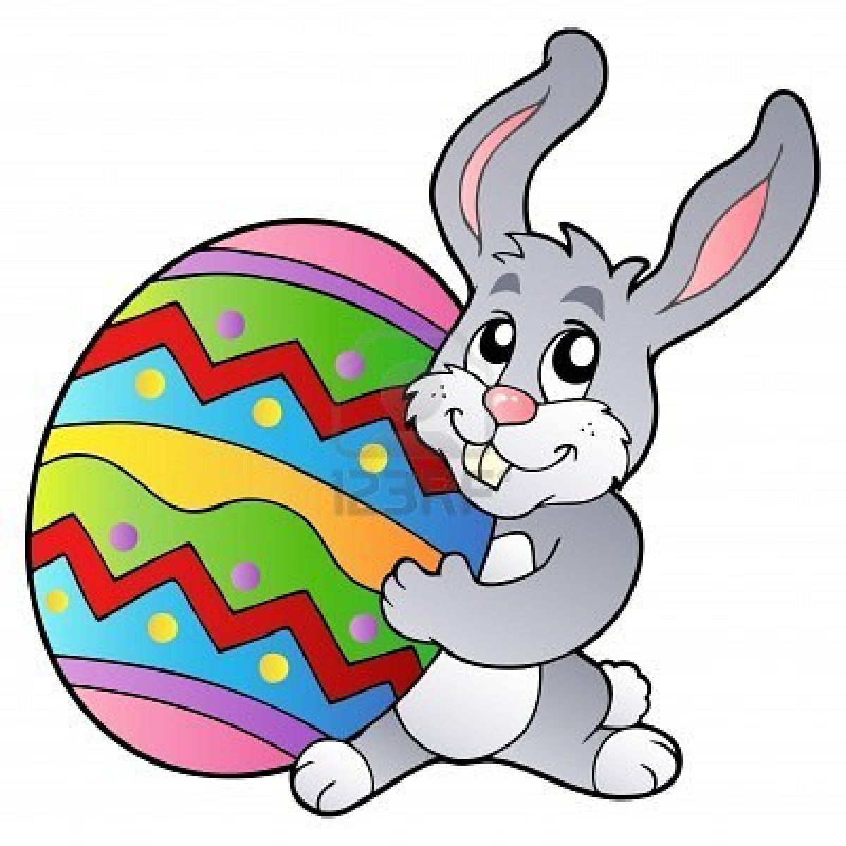 Easter Bunny - Cartoon Character - Vector Illustration Royalty ...