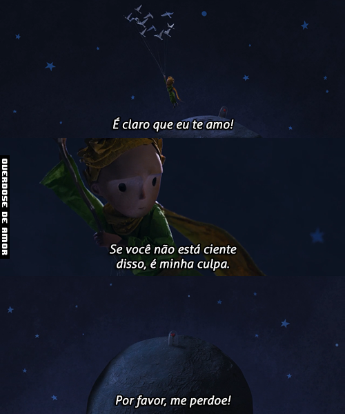 O Pequeno Príncipe Filme The Little Prince Frases The Little