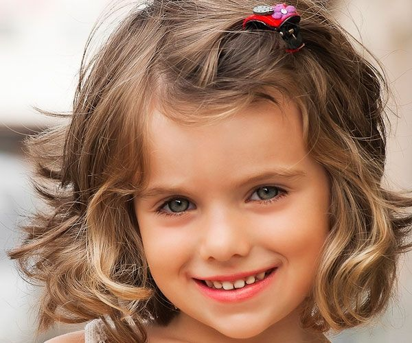30 Best Curly Hairstyles For Kids Girls Short Haircuts Little