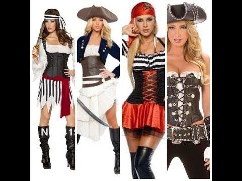 Maquillaje De Pirata Como Maquillarse De Mujer Pirata Sexy - Maquillaje-de-pirata-para-mujer