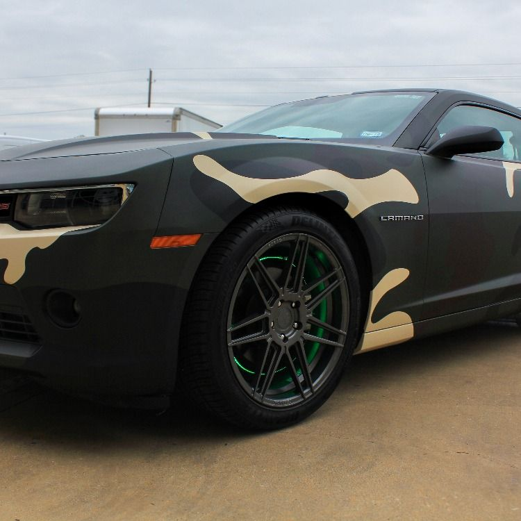 Chunky Matte Camo Wrap Camo Wraps Camo Truck Wrap Vinyl Wrap Car