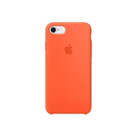 Apple Silicone Case for iPhone 8 & iPhone 7 - Spicy Orange - Walmart.com