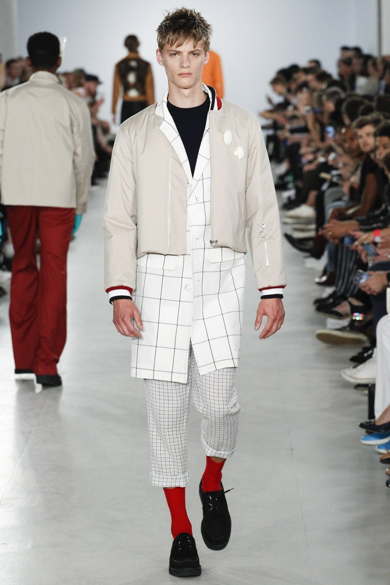 agi sam spring summer 2017 menswear collection fashion weeks was the question posed at agi sam s show this morning sam looked to his own childhood drawing inspiration from his father and mother who
