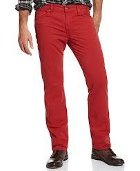seven for all mankind mens red pants - Google Search