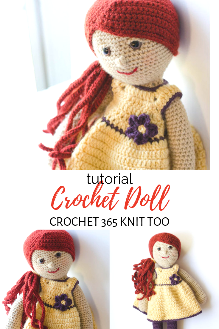 Tutorial Crochet Doll #instructionstodollpatterns