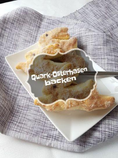 smecket  it's teatime und quarkosterhasen backen