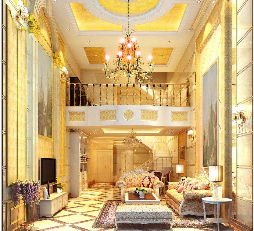 Luxury Home Interior Design Living Rooms: European Luxury Living Room Ideas