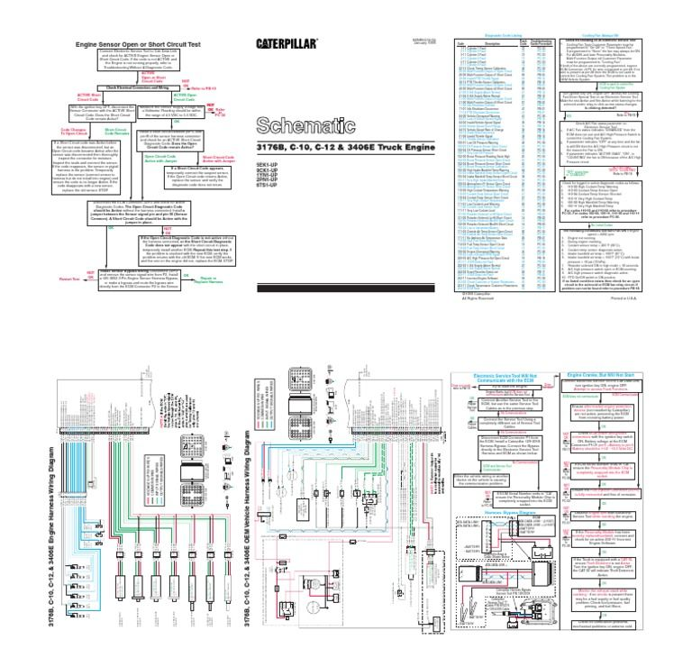 Cat C15 Ecm Wiring Diagram Pdf Somurich com