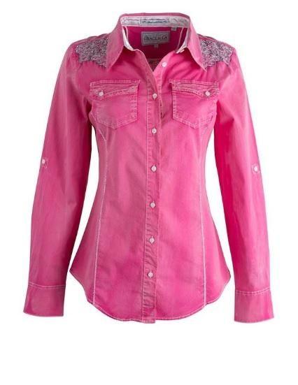 f9b7ce07 Grace in LA Women's Pink Rhinestone L/S Shirt in 2019 | Products ...