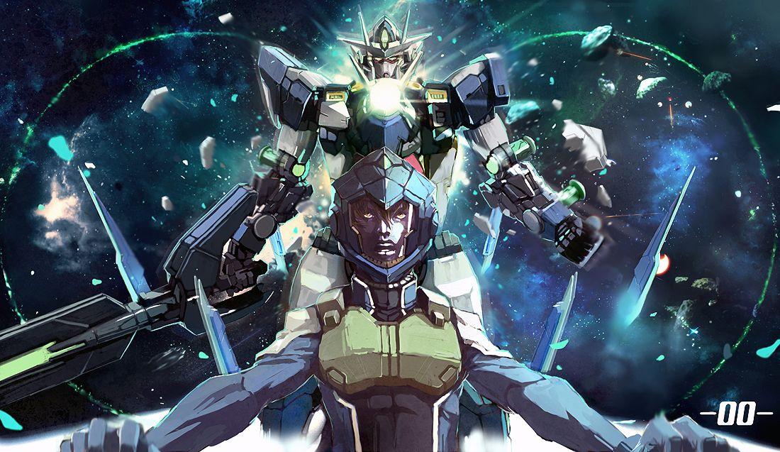 Gundam 00 Quanta - wallpaper.