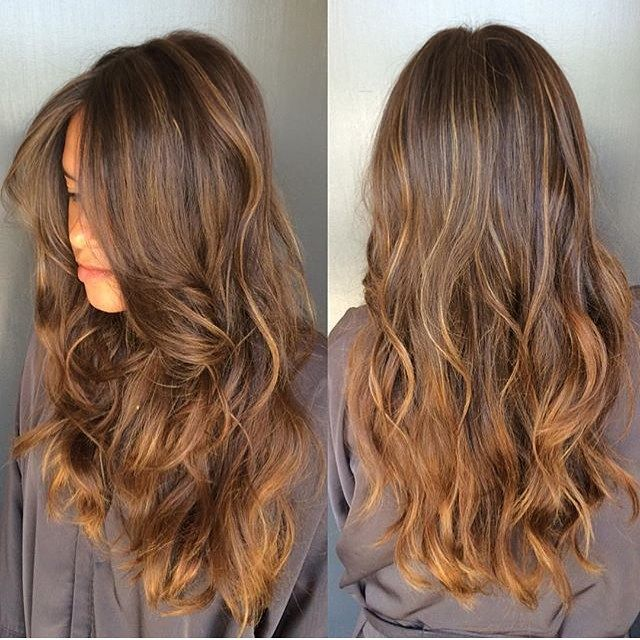 Balayage caramel on brown hair google search all - Balayage braun caramel ...