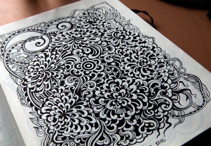 b sketching
