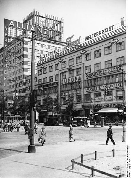 das europahaus am anhalter bahnhof 1937 berlin and