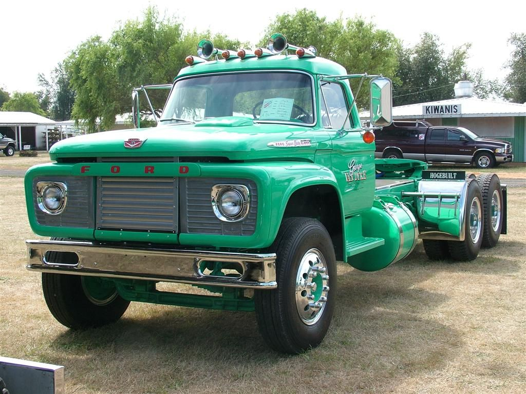 Straight Stack - 1967 Ford F850 | Old Trucks | Pinterest ...