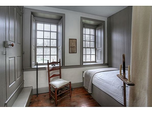 Farmhouse interior note how the doors windows and for Colonial interior paint colors