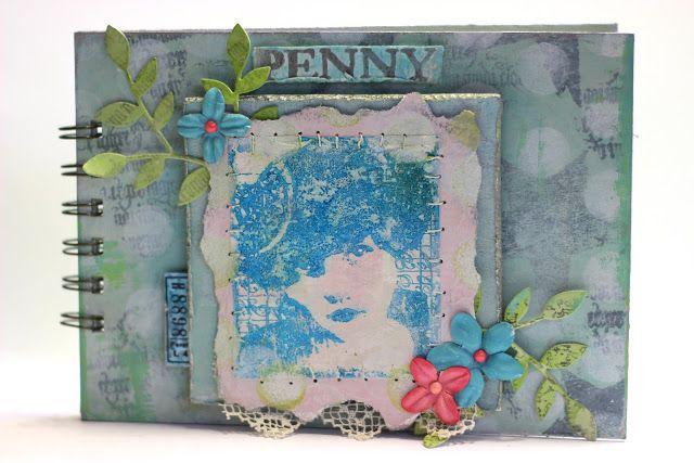 PaperArtsy: 2016 # 4 Penny {by Sarah Allan}