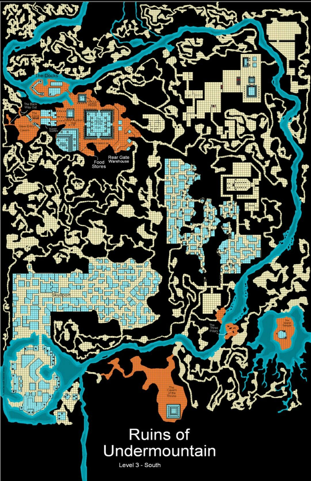 Pin by Screachinelf on Dungeon maps in 2020 Fantasy city
