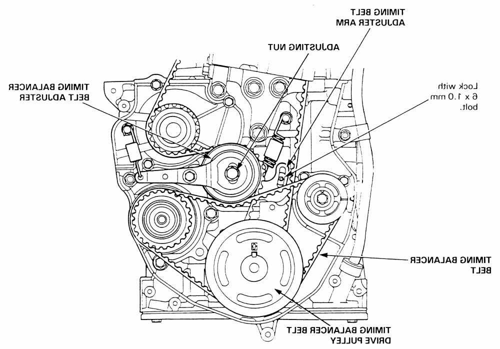 Timing Belt Honda Accord