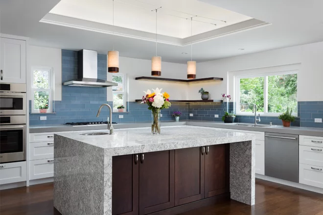 The Case For 2 Kitchen Sinks Layout W Two Sinks Excellent Article About Fo Transitional Kitchen Design Transitional Kitchen Ideas Transitional Style Kitchen