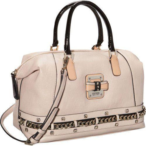 GUESS Ellese Box Satchel (Stone)  https://www.facebook.com/HandbagsWeLove/posts/195548140628416   #luxury #leatherbags #fashion #fashionbags #davidjones #dressy #accessories #bags #trendybags #shoes #style #fashionable #blonde #hair #bag #handbag #purse #çanta #taki #kombin #aksesuar #moda #Accessories #Purses #Divorce #Bag #Handmade #Fashionblogger #Leopard #Style #Vintage #messengerBag #Shoes