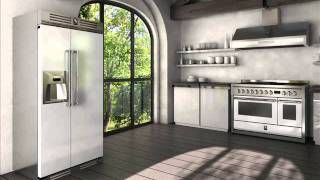STEEL = Stile in Cucina The GENESI Range of Appliances by Steel