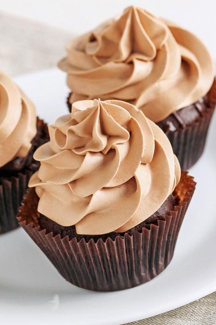 Mocha Buttercream Frosting #dessertrecipes