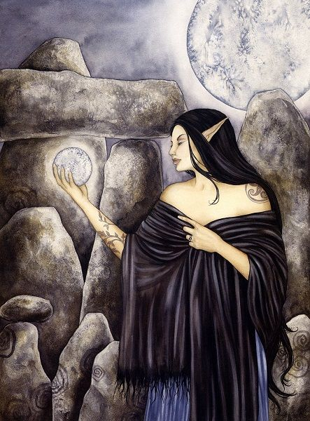 Amy Brown Priestess OUT OF PRINT