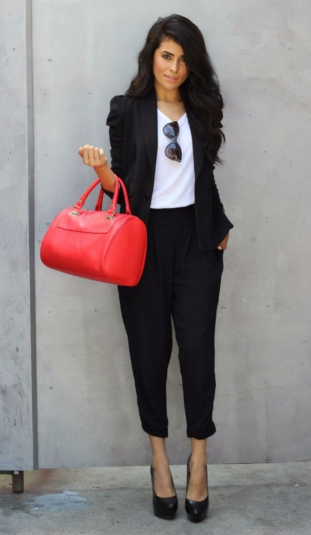 1b84a344e89 Fashion World  How to wear business casual  The best Office Outfit Ideas To Try  Now