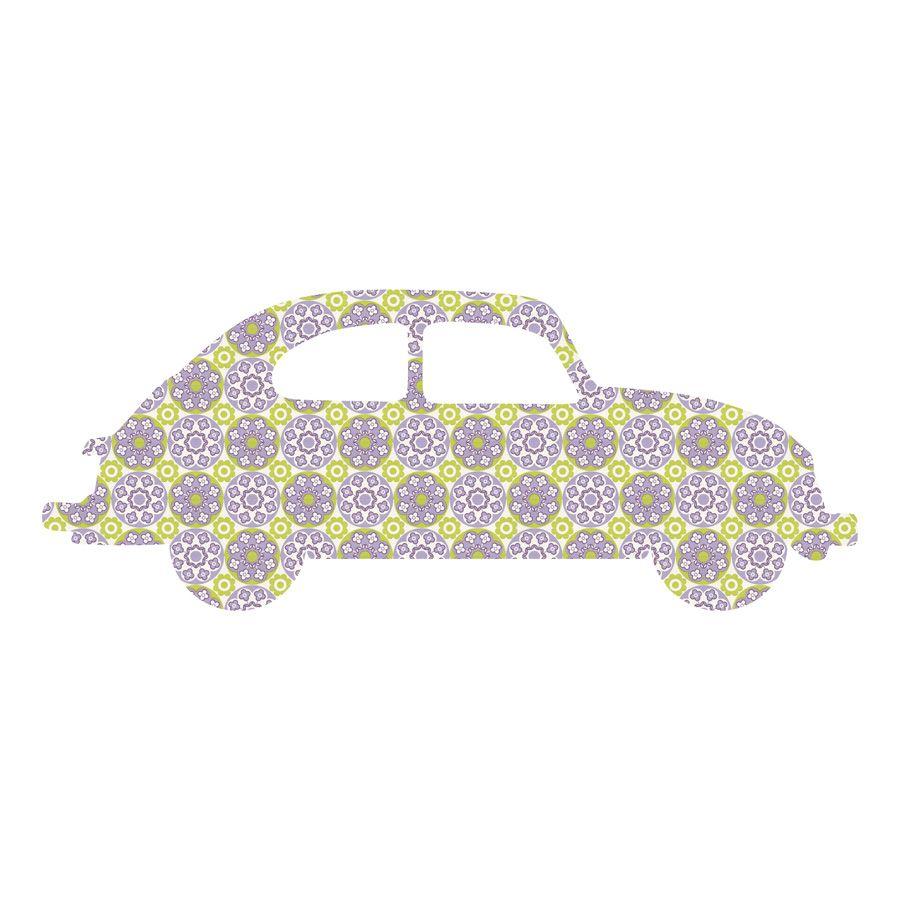 Kinderzimmer Deko Autos dekosticker auto tafel wandtatoo wandbild kinderzimmer deko Wandtattoo Auto Paper Rocks Kinderzimmer Deko Vintage Tapete Vw