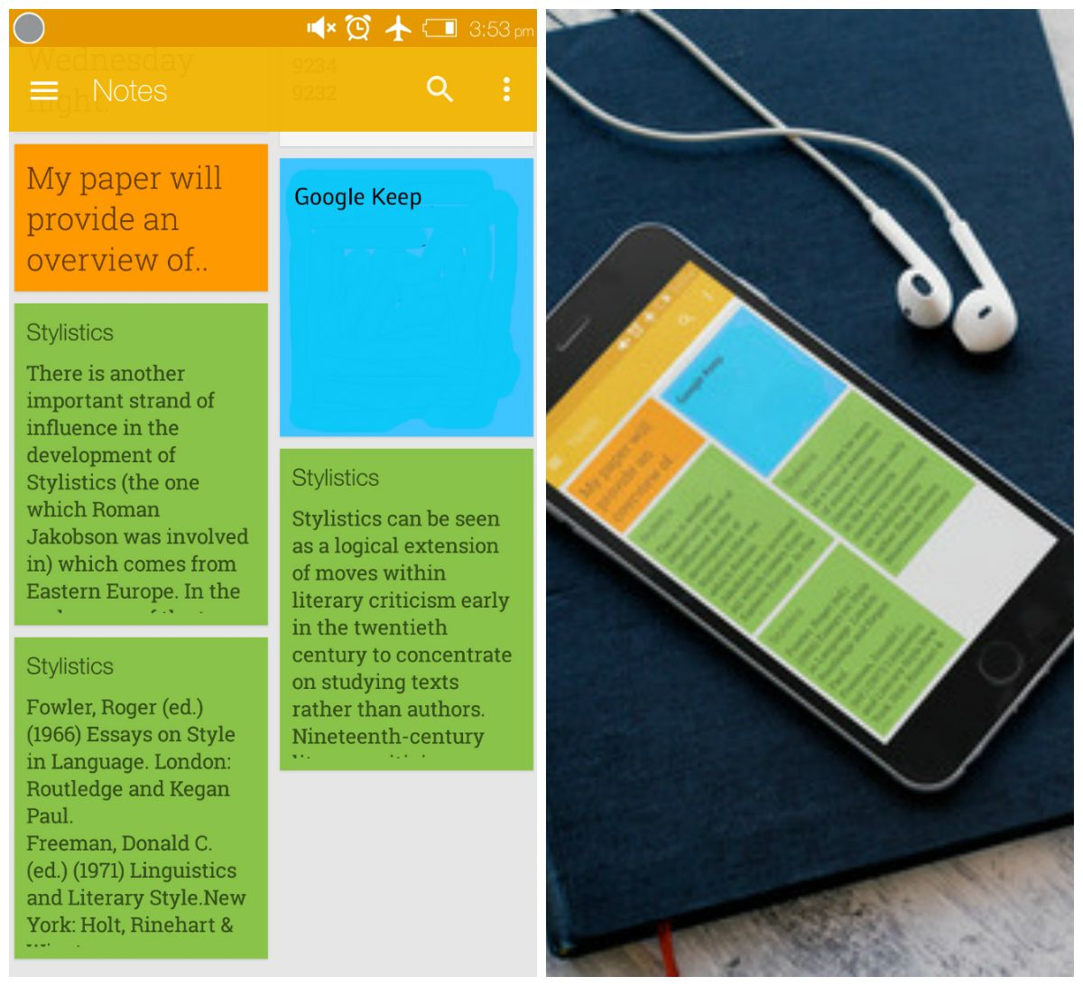 Google Keep in Education