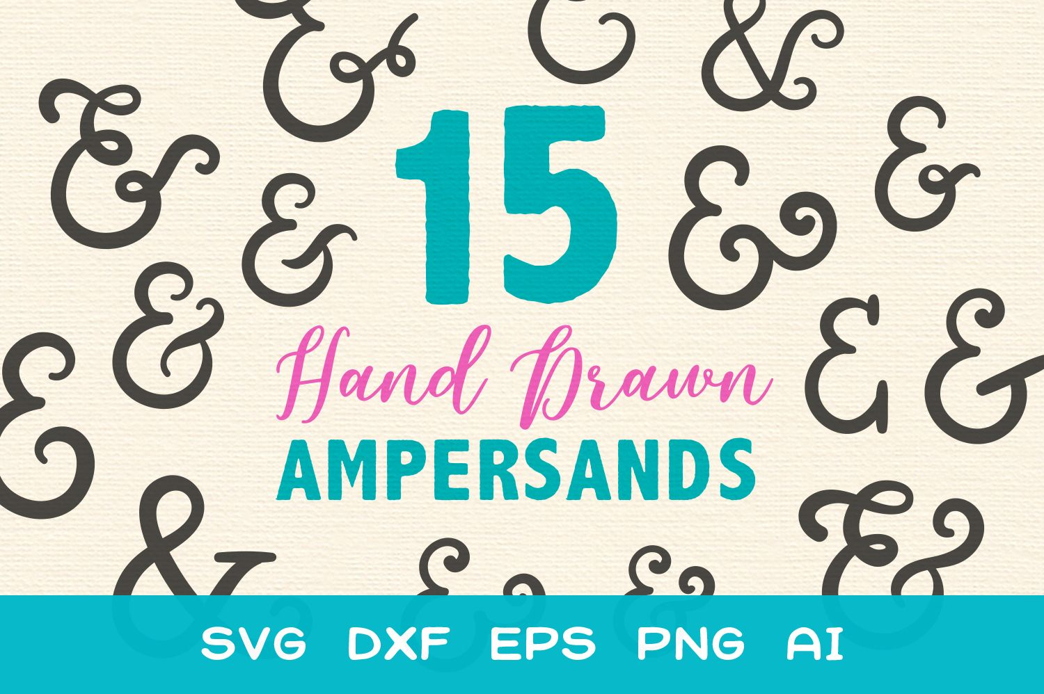 15 Ampersands For Crafters Svg Graphic By Typefairy How To Draw Hands Design Crafts Creative