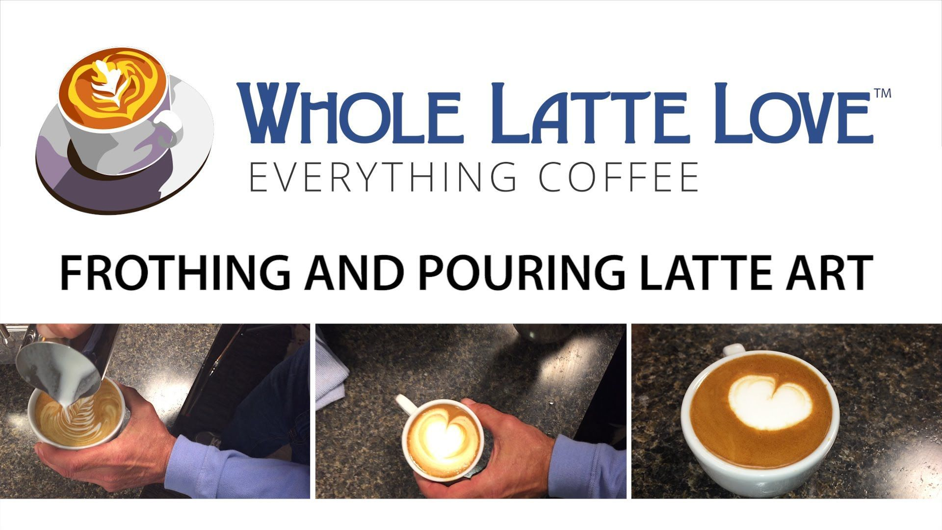 How to froth and steam milk for latte art cappuccino and