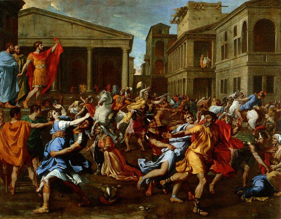Histoire de l'art - Les mouvements dans la peinture - Le classicisme Nicolas Poussin, L ...