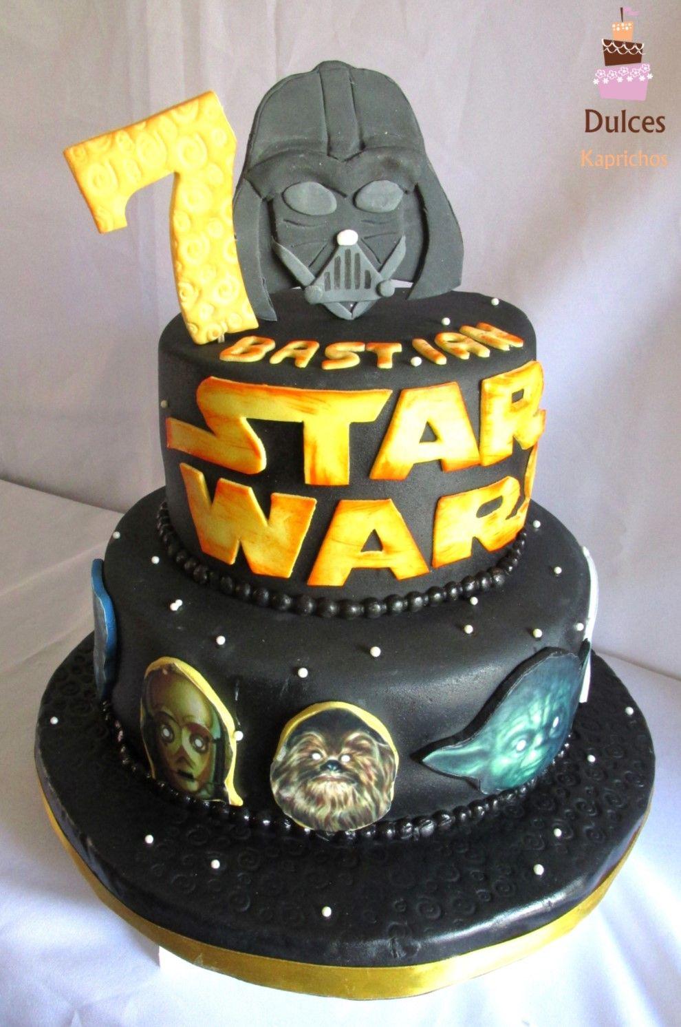 Preferenza Torta Star Wars #TortaStarWars #TortasDecoradas #DulcesKaprichos  BM35