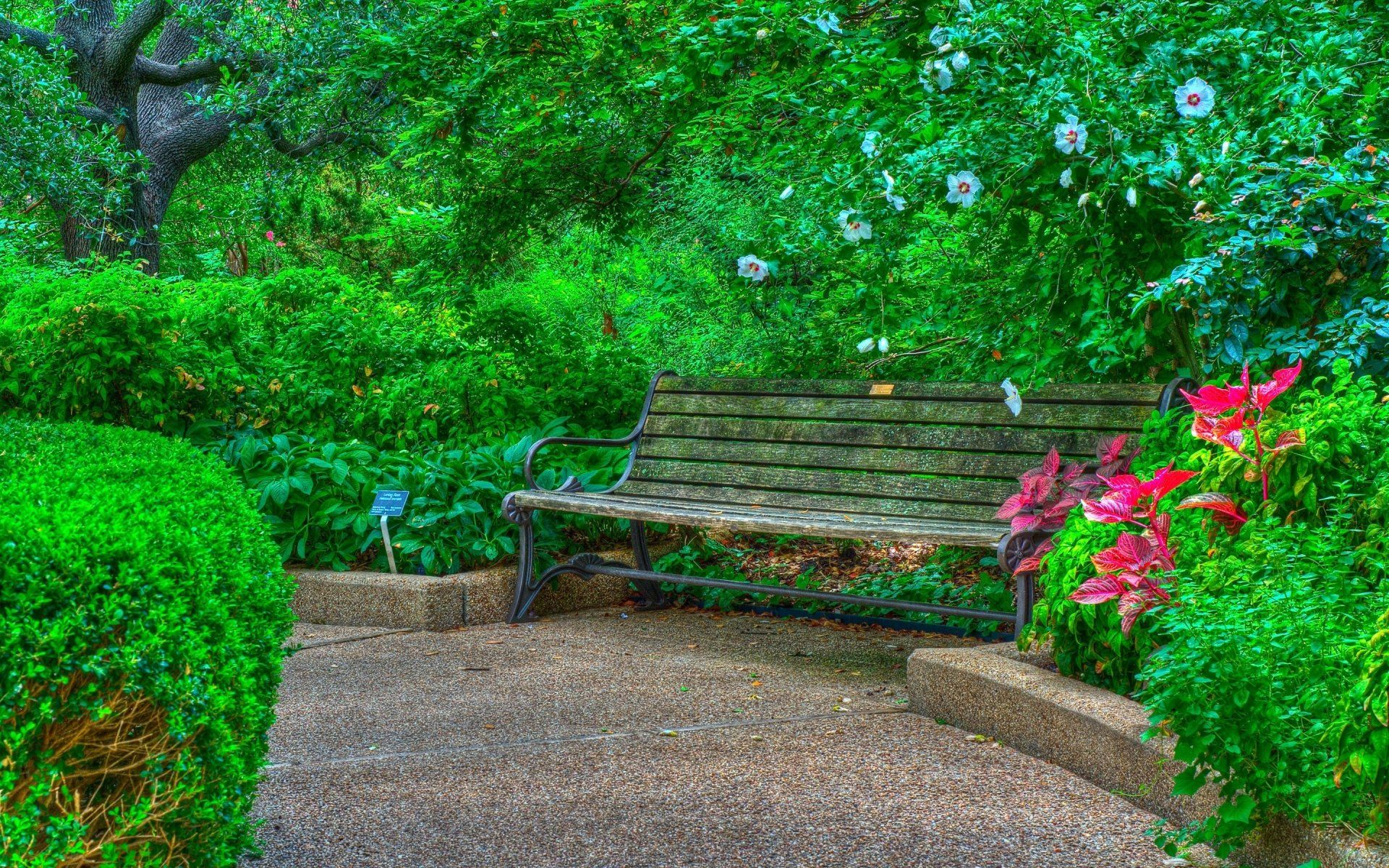 2880x1800 Bench In Spring Park Wallpaper Background Image View Download Comment And Rate Wallpaper A Background Images Hdr Pictures Blur Photo Background