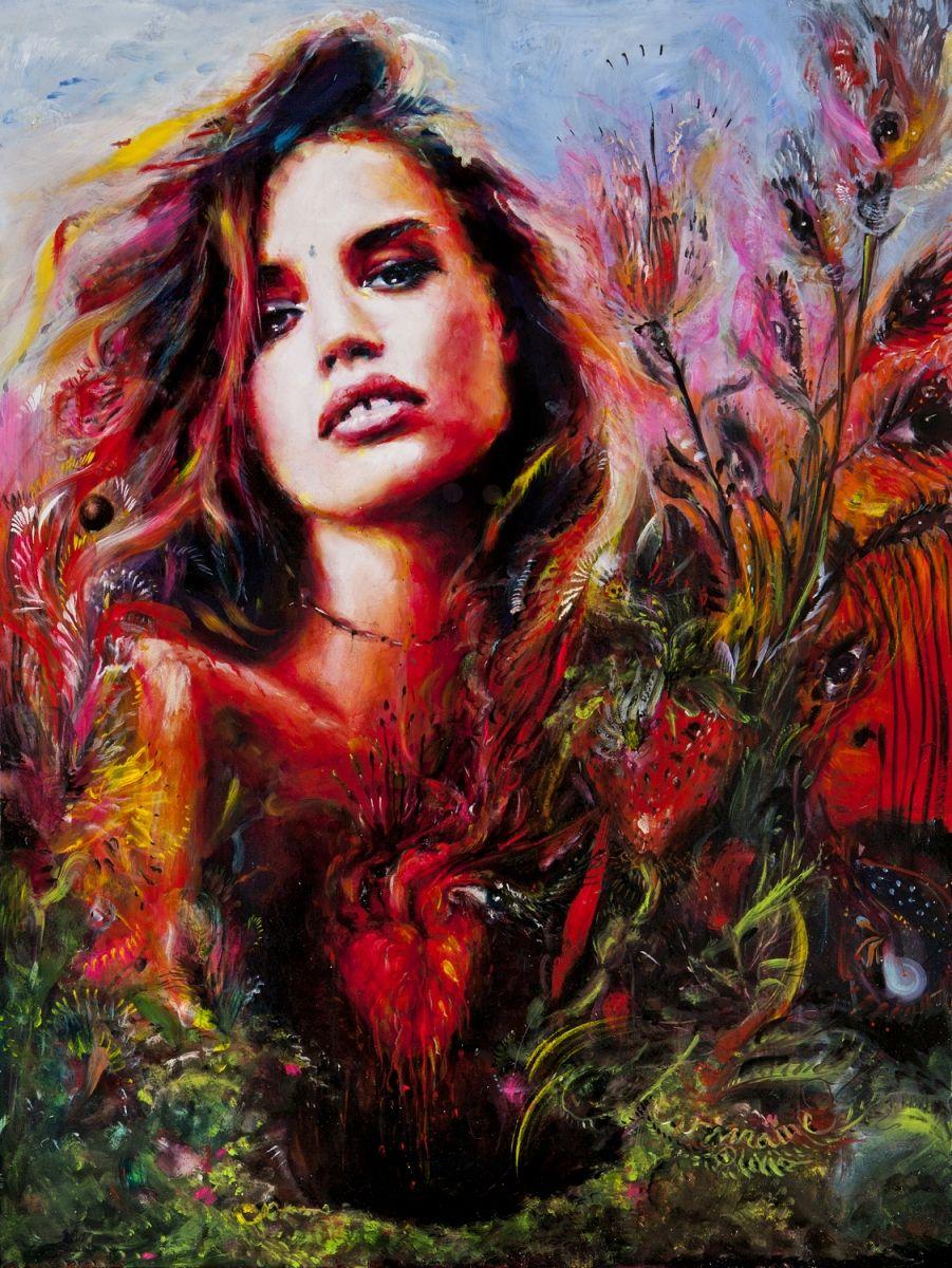art painting CharmaineOlivia    charmaine olivia portfolio tumblr instagram facebook twitter