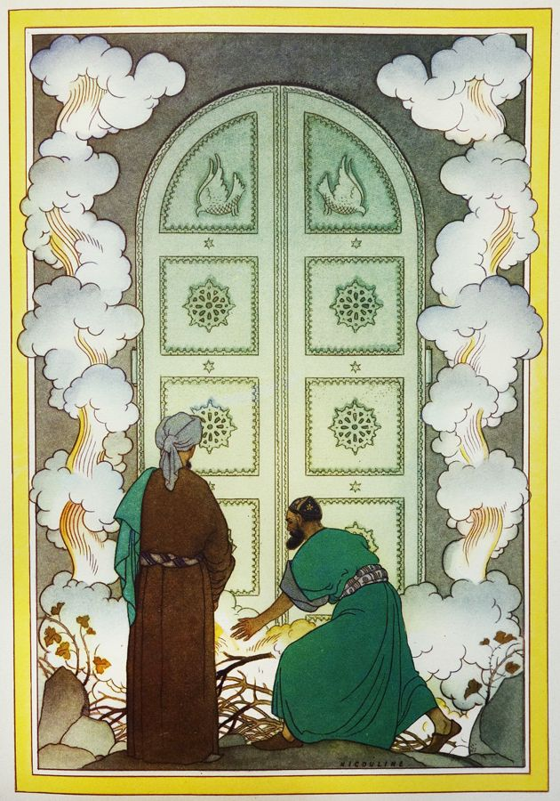 Illustration By Vsevolode Nicouline From Le Mille E Una Notte A Thousand And One Nights Published By Hoepli Editore Milan No Date Given