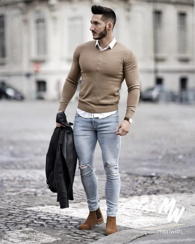 Casual Fall Work Outfit Ideas For Men 5 Mens Casual Outfits Winter Fashion Casual Business Casual Men