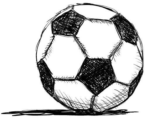 Line Drawings Of Soccer Balls Google Search Soccer Drawing Soccer Drawings