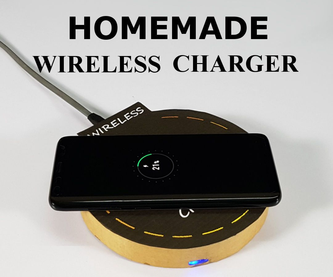 Diy wireless charger diy wireless charger diy electronics