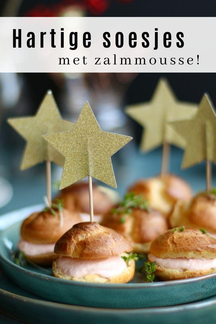 Hartige soesjes met zalmmousse - Beaufood