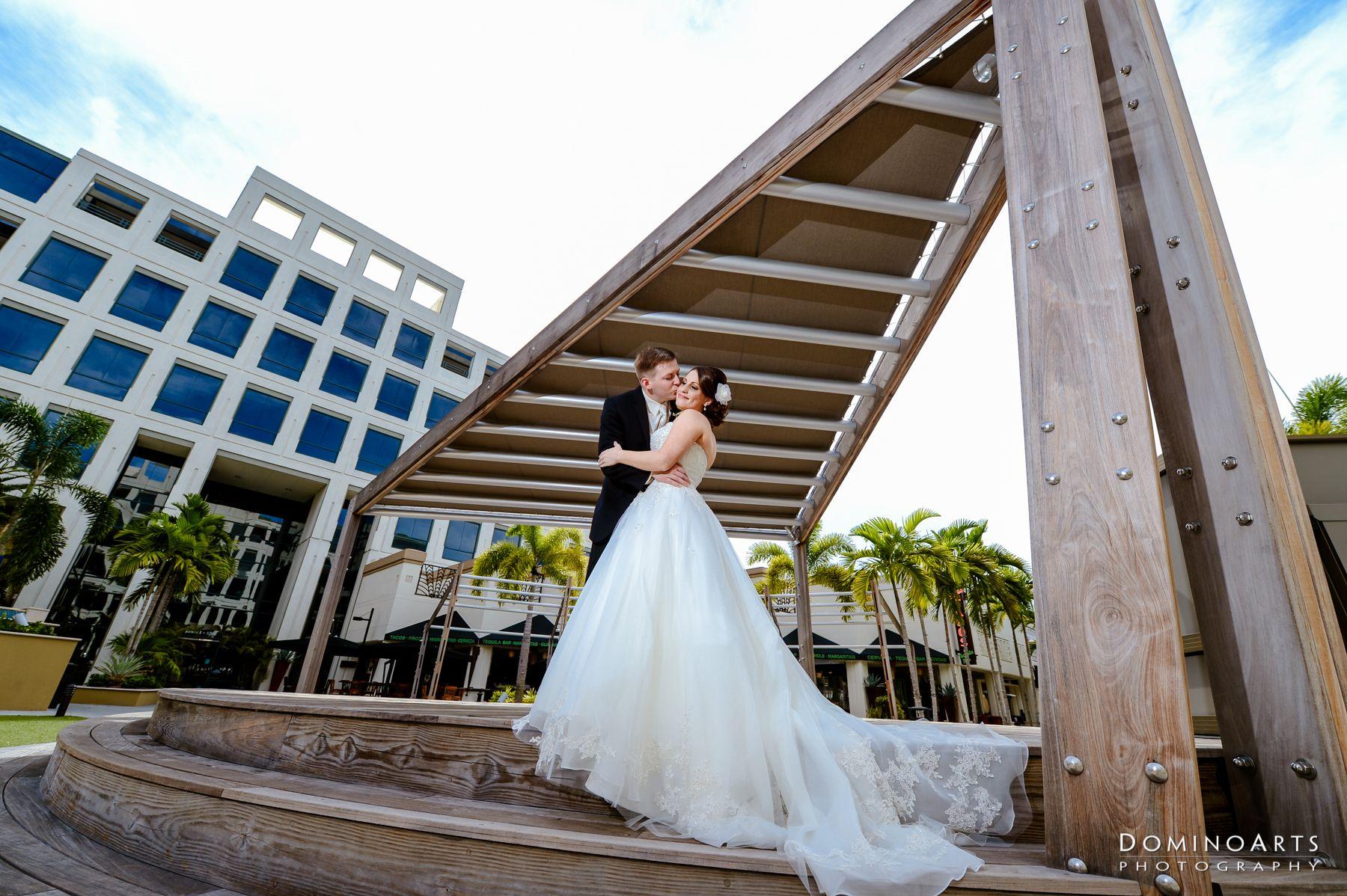 Simanta & Travis' Wedding - Sneak Peek is live! #Love #Bride #Groom #Couple #DominoArts #WeddingPhotography #SouthFlorida