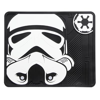 Star Wars Stormtrooper Rear Mat: Star Wars Car Accessories   PlastiColor Floor Mats