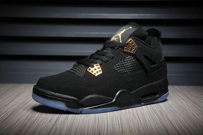 new style 7e7f3 e9f43 Free Shipping Only 69  Air Jordan 4 IV Royalty Metallic Gold White Glow In  The Dark 2017 Jordan Sneakers