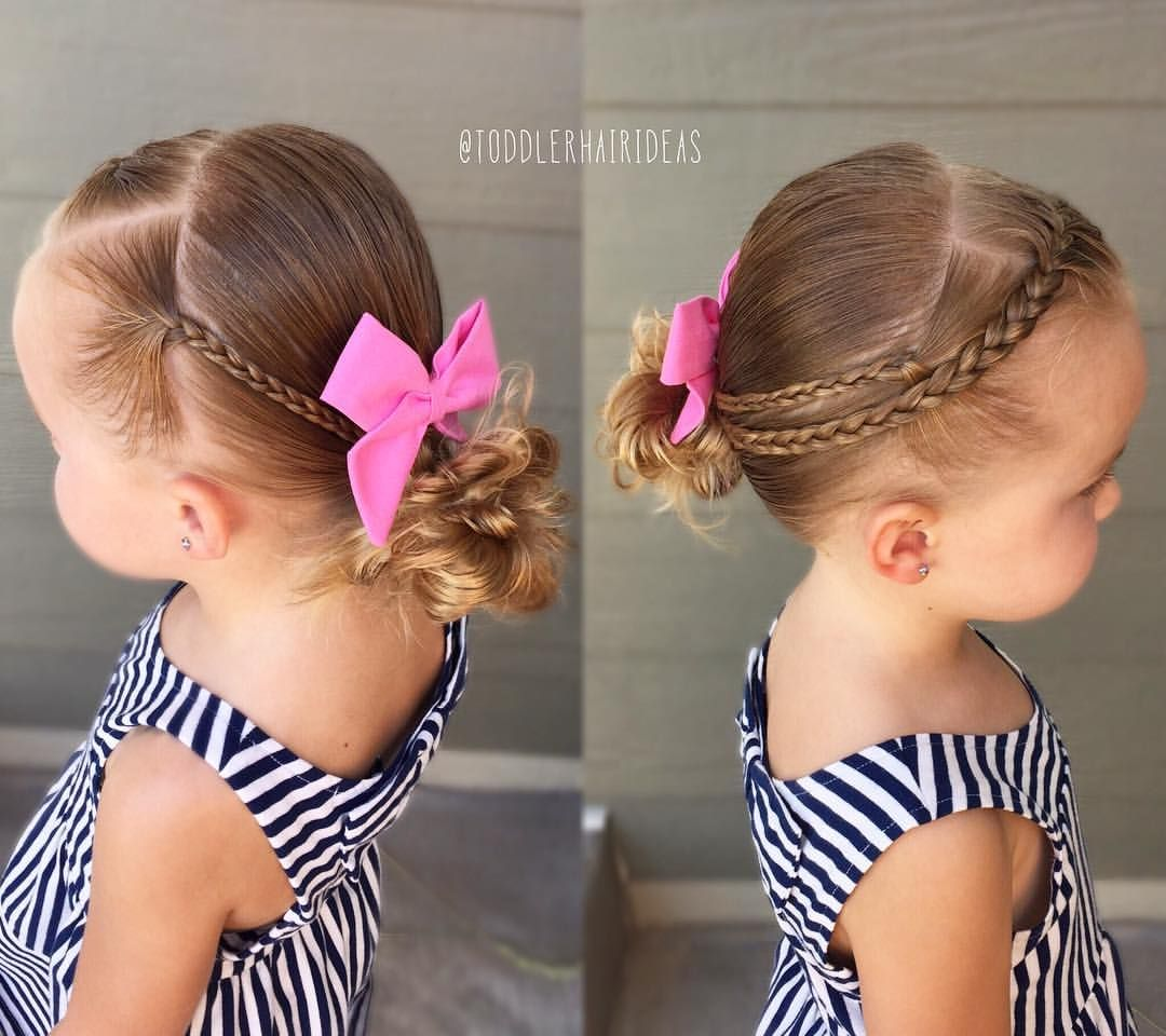 Pin by jennifer bott on little girl hair styles pinterest