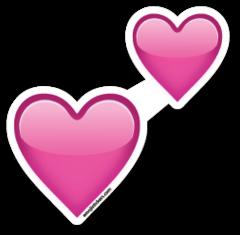Two Hearts Emojistickers Com Heart Emoji Stickers Emoji Stickers Emoji Wallpaper Iphone